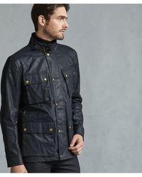 36c33b6dfe Belstaff Tourmaster Jacket in Blue for Men - Lyst