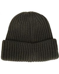 C P Company - Beanie In Green - Lyst