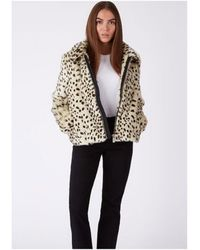 Parka London - Balina Faux Fur Jacket - Lyst