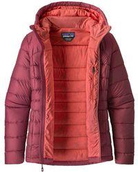 3bb3245ee995f Patagonia Hi Loft Down Hooded Jacket in Black for Men - Lyst
