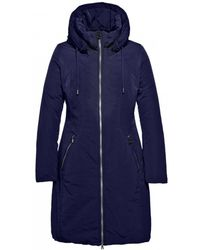Creenstone - Mid Length Hooded Coat - Lyst