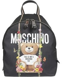 Moschino - Backpack Small Bear - Lyst