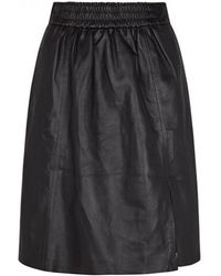 Second Female - Melvin Leather Skirt - Lyst