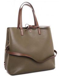 Manila Grace - Shoulder Bag In Brown - Lyst