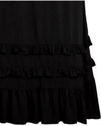 Second Female - Viga Black Maxi Skirt - Lyst