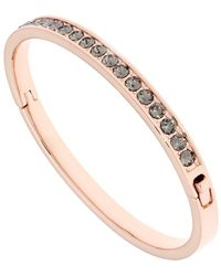 Ted Baker - Women's Clemara Hinge Crystal Bangle Bracelet - Lyst