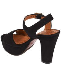 Chie Mihara - Xarco Platform Sandals In Black - Lyst