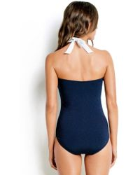 Seafolly - Block Party D Swimsuit - Lyst