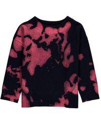 Essentiel - Antwerp Metallique Printed Sweater - Lyst