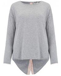 Cocoa Cashmere - Button Back Cashmere Jumper - Lyst
