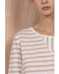 Harris Wilson - Capitole T-shirt In Ecru And Peony - Lyst
