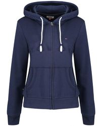 Tommy Hilfiger - Tommy Jeans Women's Essential Zip Hoody - Lyst