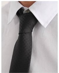Armani Jeans - Micro Eagle Patterned Tie - Lyst