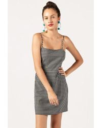 Azalea | Mini Gingham Cami Dress | Lyst