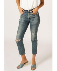 Citizens of Humanity - Dree Crop High Rise Zip Jean - Lyst