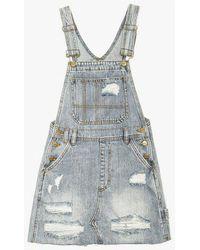 Insight - Wanda Mini Pini Skirt Overalls - Lyst