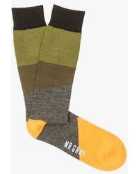 Mr Gray - Pop Block Sock - Lyst
