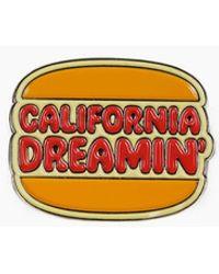Valley Cruise Press - California Dreamin' Burger Pin - Lyst