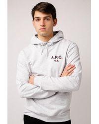 A.P.C. - Hoodie Us Sweatshirt - Lyst