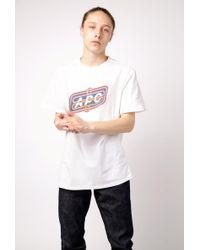 A.P.C. - T-shirt Bastien - Lyst