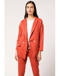Coast - Draped Blazer - Lyst