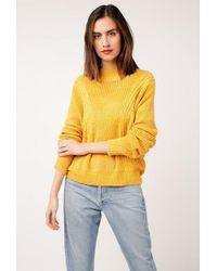 Azalea - Carina Brushed Knit Sweater - Lyst