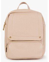 Azalea - Foldover Front Backpack - Lyst