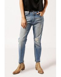 Frankie - Distressed Boyfriend Jeans - Lyst