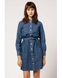 A.P.C. - Jane Dress - Lyst