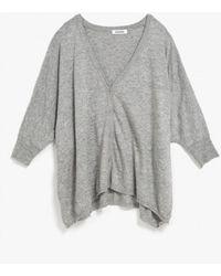 Azalea - Kimono 3/4 Sleeve Cardigan - Lyst