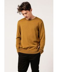 Nudie Jeans - Tony Raw Seam Sweater - Lyst