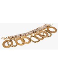 Nicole Romano - Silver Chain W/ Mesh Bracelet - Lyst