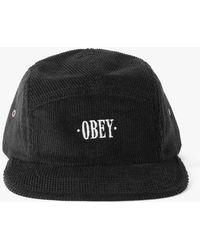 Obey - Journeyman 5panel Hat - Lyst