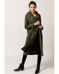Obey - Easy Ride Trench Coat - Lyst