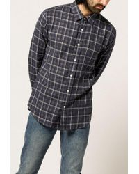 Corridor NYC - L/s Double Cloth Shirt - Lyst
