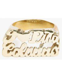 Snash Jewelry - I Love Pina Coladas Ring - Lyst