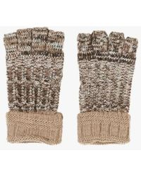 Azalea - Marled Fingerless Gloves - Lyst