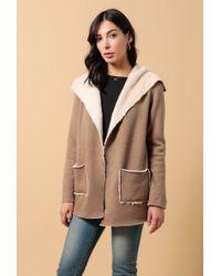 Azalea - Noelle Faux Fur Lining Blazer Jacket - Lyst