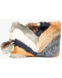 Azalea - Furry Clutch - Lyst
