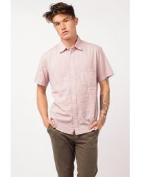 Corridor NYC - Varigated Stripe S/s Shirt - Lyst