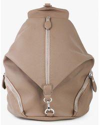 Azalea - Faux Leather Dogclip Backpack - Lyst