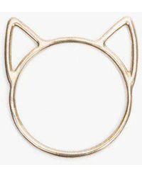 Catbird - Lovecat Ring - Lyst