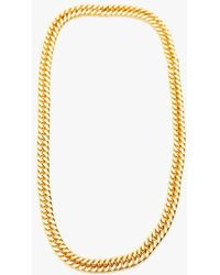 Nicole Romano - Infinity Gold Chain Necklace - Lyst
