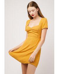 Azalea - Sweetheart Neck A Line Dress - Lyst