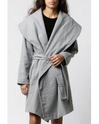 Azalea - Wrap Coat - Lyst