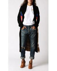 Mara Hoffman - Knit Sweater Coat - Lyst