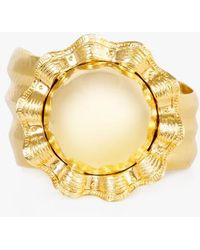 Nicole Romano - Flower Cuff Bracelet - Lyst