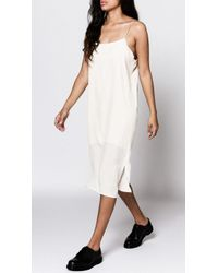 Objects Without Meaning - Jersey Slip Dress - Lyst