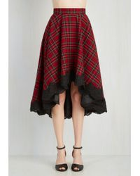 Hell Bunny London - For Statement's Sake Skirt - Lyst