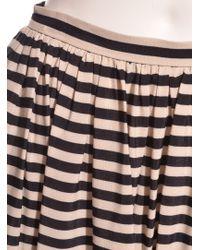 Eudon Choi - Marginata Black & White Striped Maxi Skirt - Lyst